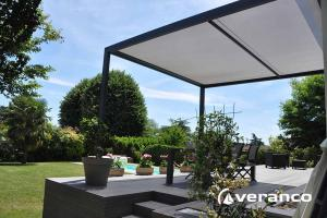 pergola a store enroulable cocoon