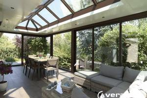 veranda marron normand